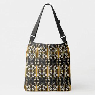 Grand sac fourre-tout #1 géométrique moderne
