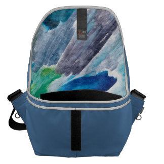 Grand sac messenger par des couleurs heureuses besaces