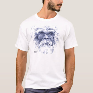 Grand Sasquatch bleu T-shirt