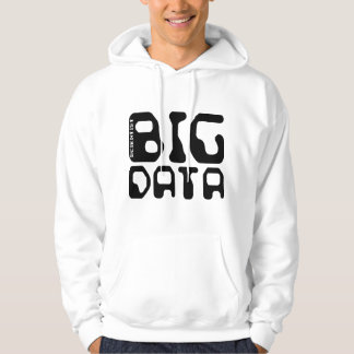 Grand scientifique de données veste à capuche
