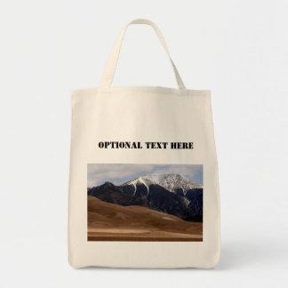 Grand souvenir de parc national de dunes de sable sacs de toile