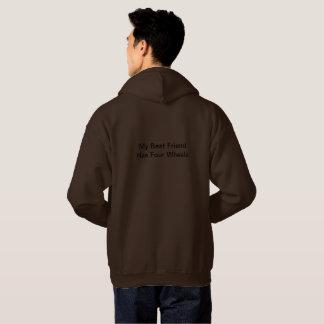 Grand sweat - shirt à capuche pour les