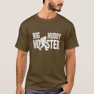 Grand T-shirt boueux de monstre