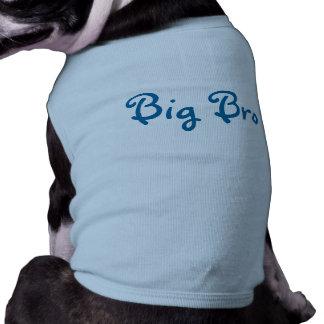 Grand T-shirt de chien de Bro- T-shirt Pour Chien