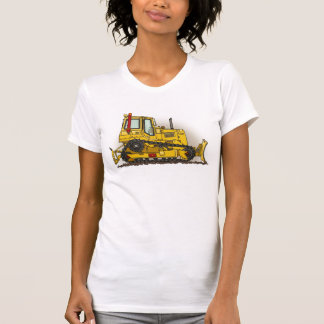 Grand T-shirt de filles de bouteur de bouteur