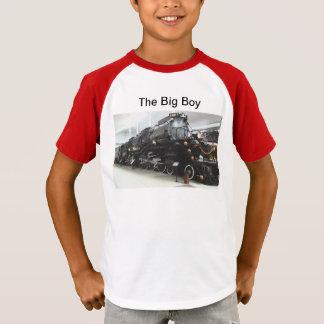 Grand T-shirt de garçon d'enfants