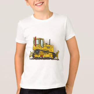 Grand T-shirt de garçons de bouteur de bouteur