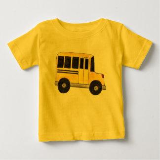 Grand T-shirt jaune d'autobus scolaire