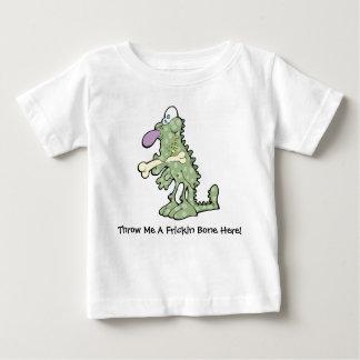 Grand T-shirt pourpre du Jersey de bébé de