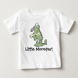 Grand T-shirt pourpre du Jersey de bébé de monstre