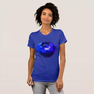 Grand T-shirt vif de myrtille