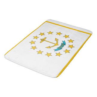Grand tapis de bain avec le drapeau d'Île de