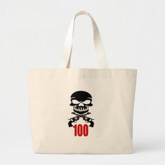 Grand Tote Bag 100 conceptions d'anniversaire