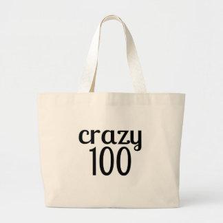 Grand Tote Bag 100 conceptions folles d'anniversaire