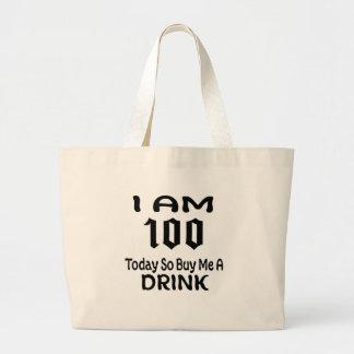 Grand Tote Bag 100 m'achètent aujourd'hui ainsi une boisson