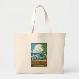 Grand Tote Bag 1929 casquette D'Antibes Grand prix emballant