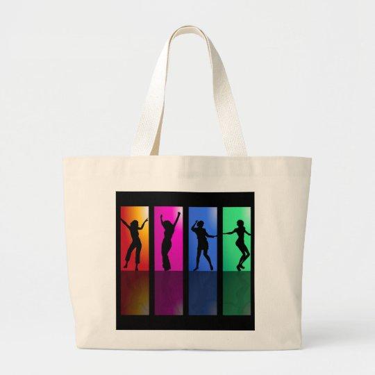 Grand Tote Bag 4 danseuses multicolor