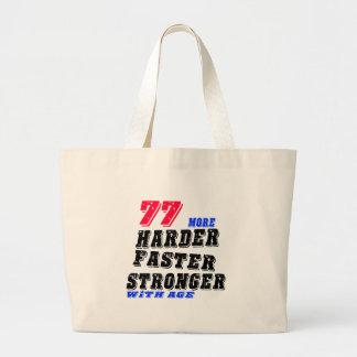Grand Tote Bag 77 plus forts plus rapides plus durs avec l'âge