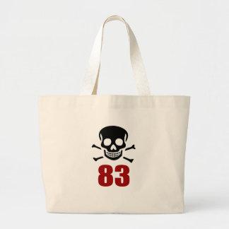Grand Tote Bag 83 conceptions d'anniversaire