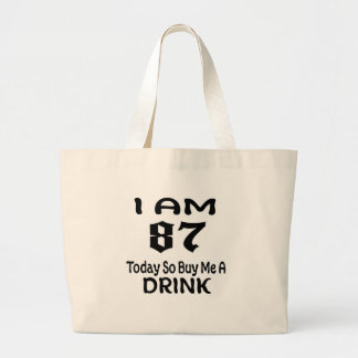 Grand Tote Bag 87 achetez-aujourd'hui ainsi moi une boisson