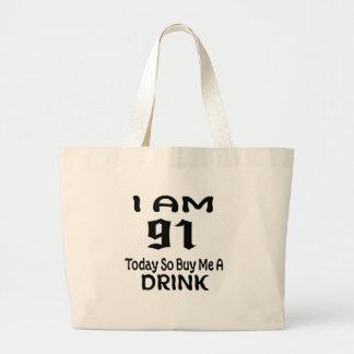 Grand Tote Bag 91 achetez-aujourd'hui ainsi moi une boisson