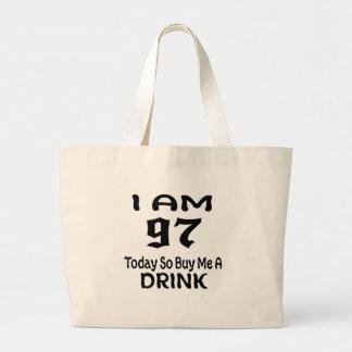 Grand Tote Bag 97 achetez-aujourd'hui ainsi moi une boisson