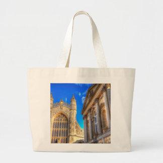 Grand Tote Bag Abbaye de Bath et bains romains