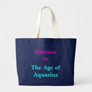 Grand Tote Bag Accueil à l'âge du Verseau fourre-tout