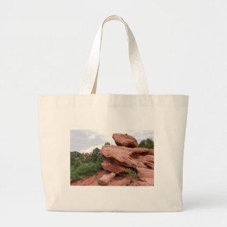 Grand Tote Bag Affleurement rocheux au jardin des dieux