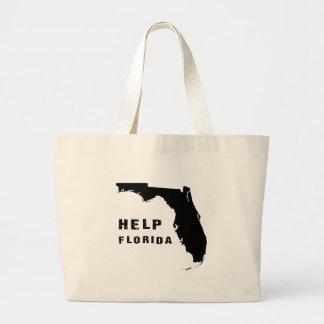 Grand Tote Bag Aide la Floride après ouragan Irma