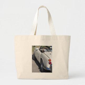 Grand Tote Bag Aile gauche d'une vieille voiture classique