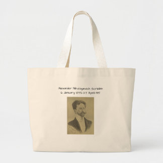 Grand Tote Bag Alexandre Nikolayevich Scriabin
