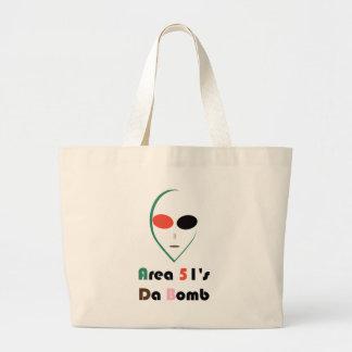 Grand Tote Bag alien