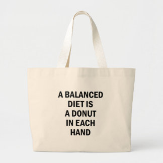 Grand Tote Bag Alimentation équilibrée