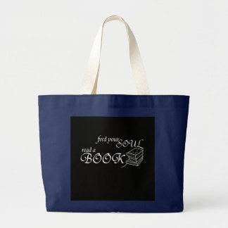 Grand Tote Bag Alimentez votre âme - cartable