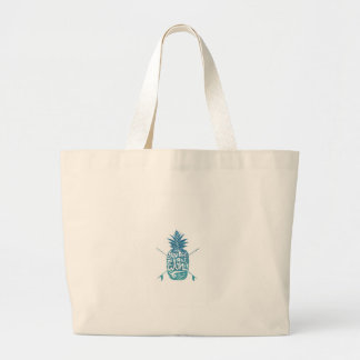 Grand Tote Bag Aloha planches de surf d'ananas