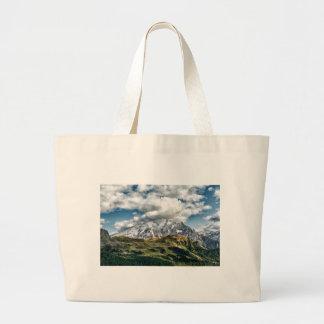 Grand Tote Bag Alpes de dolomites, Italie