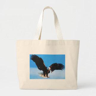 Grand Tote Bag Américain chauve Eagle