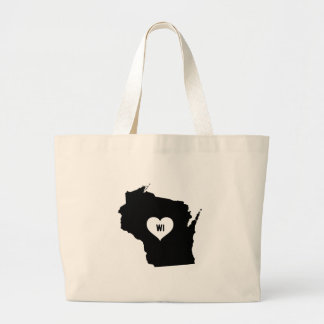 Grand Tote Bag Amour du Wisconsin