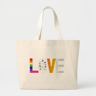 Grand Tote Bag Amour universel