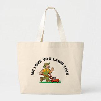 Grand Tote Bag -amour-vous-pelouse-temps