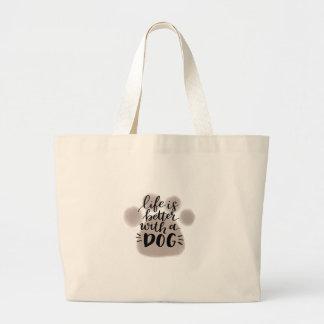 Grand Tote Bag AMOUREUX DES CHIENS, chemises, accessoires,