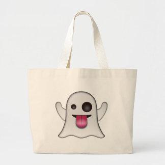 Grand Tote Bag Amusement frais d'Emoji de fantôme effrayant