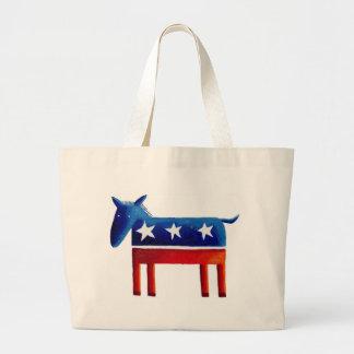 Grand Tote Bag Âne Democratic
