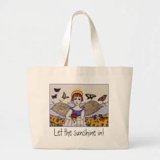 Grand Tote Bag Ange de soleil