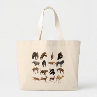 Grand Tote Bag Animaux sauvages