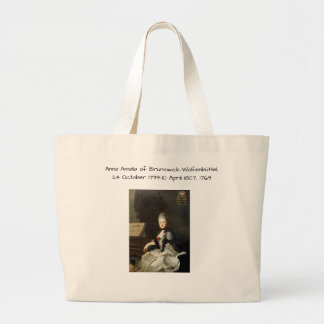 Grand Tote Bag Anna Amalia de Brunswick-Wolfenbuttel 1769