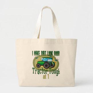 Grand Tote Bag Anniversaire dur de tracteur ęr