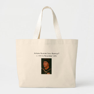 Grand Tote Bag Antoine Busnois également Busnoys