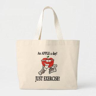 Grand Tote Bag apple2 fonctionnant
